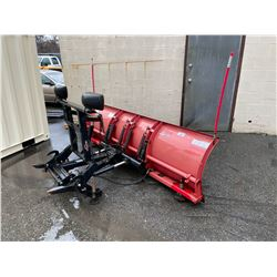 WESTERN PRO PLUS 108  TRUCK MOUNT PLOW BLADE WITH ULTRA MOUNT SYSTEM