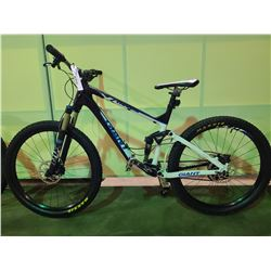 BLACK GIANT TRANCE 20 - SPEED FULL SUSPENSION MOUNTAIN BIKE WITH FULL DISC BRAKES AND CARBON FIBER
