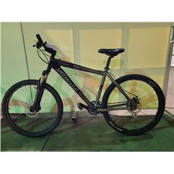 BLACK SPECIALIZED BARDROCK 21 - SPEED FRONT SUSPENSION MOUNTAIN BIKE WITH FULL DISC BRAKES