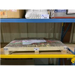 """PALLET OF BRAND NEW GREATBEAR 5 X 9200LBS RATCHET BINDER AND 10 X 3/8"""" 20FT G70 CHAIN"""
