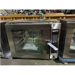 DOYON DCOT5 STAINLESS STEEL COMMERCIAL COUNTERTOP CONVECTION OVEN ( SMALL COSMETIC DAMAGE )