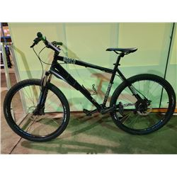 BLACK NORCO 7 - SPEED FRONT SUSPENSION MOUNTAIN BIKE WITH FULL DISC BRAKES (MISSING CHAIN, BOTH
