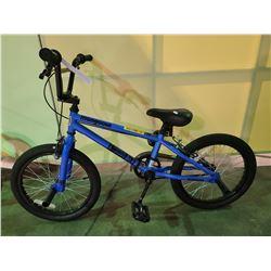 BLUE MONGOOSE SINGLE SPEED BMX BIKE