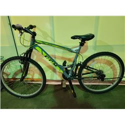 GREY CCM STATIC 21 - SPEED FULL SUSPENSION MOUNTAIN BIKE