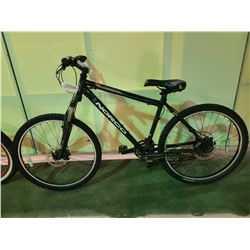 BLACK NORCO BUSCH PILOT 24 - SPEED FRONT SUSPENSION MOUNTAIN BIKE WITH FULL DISC BRAKES