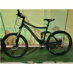 GREY NORCO 27 - SPEED FULL SUSPENSION MOUNTAIN BIKE WITH FULL DISC BRAKES ( REAR TIRE OFF / BACK