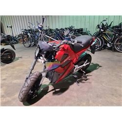 RED MOTORINO ELECTRIC BIKE ( NO CHARGER, NO KEY, CONDITION UNKNOWN )