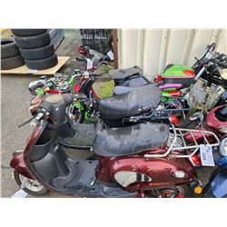 4 ASSORTED PARTS ONLY ELECTRIC BIKES ( NO KEYS, NO CHARGERS, FOR PARTS )