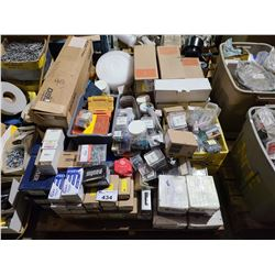PALLET OF ASSORTED PLUMBING PRODUCTS & HARDWARE