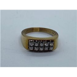 14K LADIES RING WITH DIAMONDS REPLACEMENT VALUE 1295.00