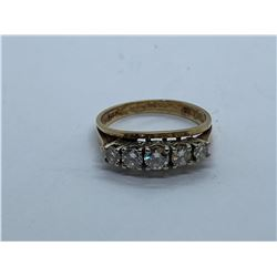 14K LADIES RING WITH DIAMONDS REPLACEMENT VALUE1950.00
