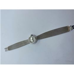 18K LADIES OMEGA WATCH REPLACEMENT VALUE 2700.00