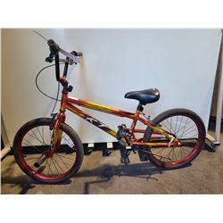 RED MOVELO KJ SINGLE SPEED BMX BIKE