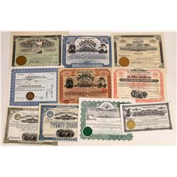 Alaska Mining Stock Collection  (109273)