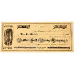 Rustler Gold Mining Company Stock  (123529)
