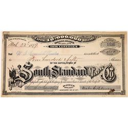 South Standard Mining Company Stock, Bodie, Mono County  (123539)