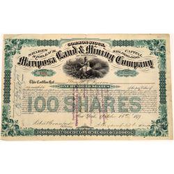 Mariposa Land & Mining Company Stock  (123670)