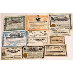 California Mining Stock Certificate Collection  (109147)