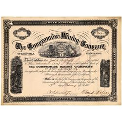 Compromise Mining Co. of Leadville, Colorado Stock, Rare  (123592)
