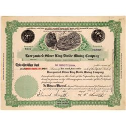 Reorganized Silver King Divide Mining Co. Stock Certificate  (109281)