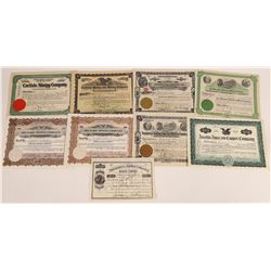 New Mexico Mining Stock Certificate Group  (113795)