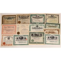 Mexican Mining Stock Certificate Collection  (109260)