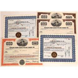 Alaska Oil Industry Stock Certificates  (109290)