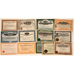 Oil Stock Certificate Collection  (107978)