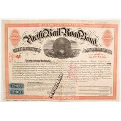 Pacific Railroad Bond  (84104)