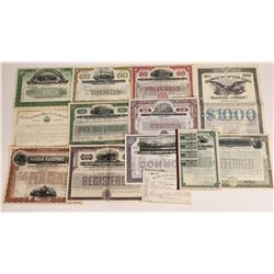 New York Railroad Stock & Bond Collection  (109251)