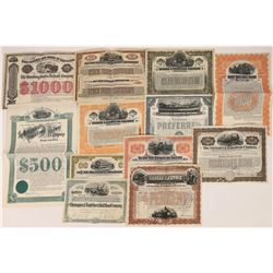 New York Railroad Stock & Bond Collection  (109126)