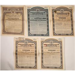 1890s Russian Gold Loan Bonds  (126227)