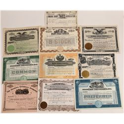 Creamery Stock Certificate Collection  (109144)