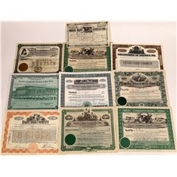 Creamery Stock Certificate Collection  (109145)