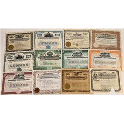 Creamery Stock Certificate Collection  (109143)