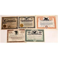 Beverage & Bottling Stock Certificate Group  (109142)