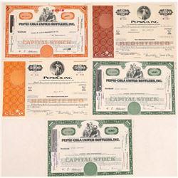 Pepsi-Cola Stock Certificates & Bonds  (109244)