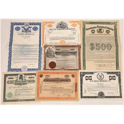 Brewing Stock Certificate Collection  (109320)
