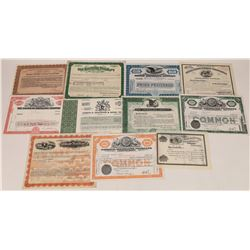 Whiskey Distillers Stock Certificate Collection  (126045)