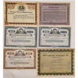 Educational Pictures Stock Certificates-Keaton & Arbuckle  (126553)