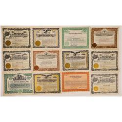 Film Company Stock Certificates-20  (126797)