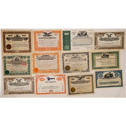 Fox Theatres & More Stock Certificates  (126790)
