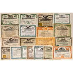 Hollywood Movie Stock Certificates  (126554)