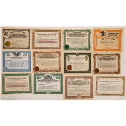Obscure Movie Co. Stock Certificates (20)  (126799)