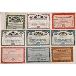 Paramount Pictures Stock Certificates-9  (126807)