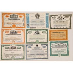 TV Production and Network Stock Certificates, Including Desilu  (126962)