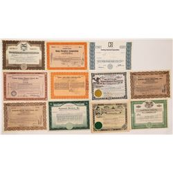 Theatre Chain Owner Stock Certificates  (125999)