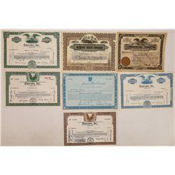 Theatre Chain, Including Cinerama Stock Certificates  (125997)