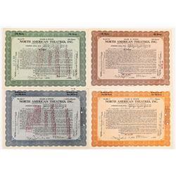 North American Theatres Stock Certificates-4  (126972)