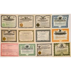 Little Known Film Company Stock Certificates  (126564)